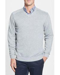 Cutter & Buck - Broadview V-neck Sweater - Lyst