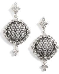 Freida Rothman   Disc Drop Earrings   Lyst
