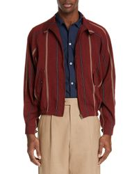 Éditions MR - Victor Stripe Harrington Jacket - Lyst