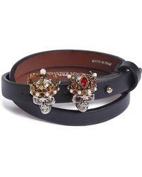 Alexander McQueen - King & Queen Wrap Bracelet - Lyst