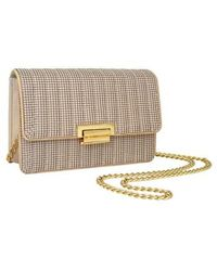 Whiting & Davis - Sydney Quilted Clutch - Lyst