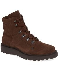 Aquatalia - Christopher Suede Hiking Boots - Lyst