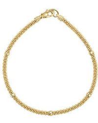 Lagos - Caviar Gold Rope Bracelet - Lyst