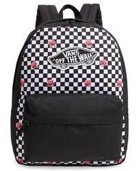 4ba90ea36028 Lyst - Vans Backpack in Black