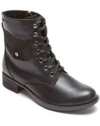 Rockport - Copley Waterproof Combat Boot - Lyst
