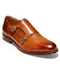 Cole Haan - American Classics Gramercy Double Strap Monk Shoe - Lyst