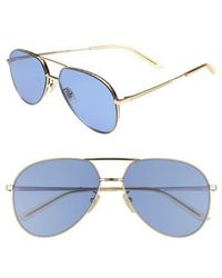 Gucci - 59mm Aviator Sunglasses - Lyst