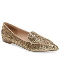 Sole Society - 'cammila' Pointy Toe Loafer - Lyst