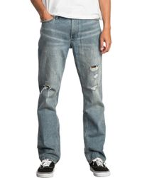 RVCA - Stay Slim Fit Jeans - Lyst
