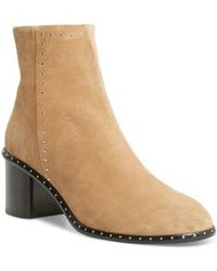 Rag & Bone - 'willow' Studded Bootie - Lyst