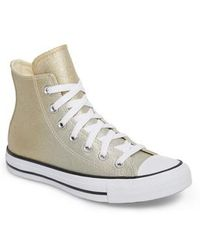 Converse - Chuck Taylor All Star Ombre Metallic High Top Sneaker - Lyst