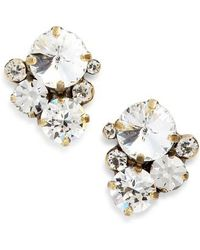 Sorrelli - Crystal Earrings - Lyst