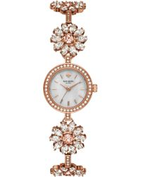 Kate Spade - Daisy Chain Crystal Watch - Lyst