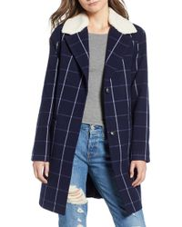 Levi's - Wool Top Coat - Lyst