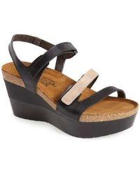 Naot - 'canaan' Wedge Sandal - Lyst