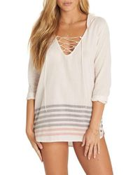 Billabong - Same Story Cover-up Tunic - Lyst