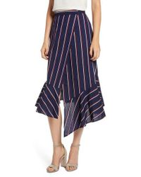 French Connection - Celoa Wrap Skirt - Lyst
