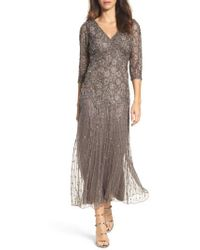 Pisarro Nights | Beaded Mesh Dress | Lyst