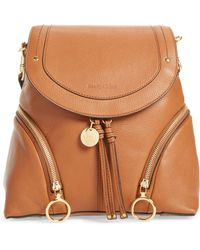 See By Chloé - Leather Backpack - - Lyst