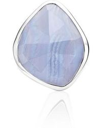 Monica Vinader - Siren Nugget Semiprecious Stone Cocktail Ring - Lyst