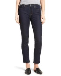 7 For All Mankind | 7 For All Mankind B(air) Roxanne Ankle Skinny Jeans | Lyst