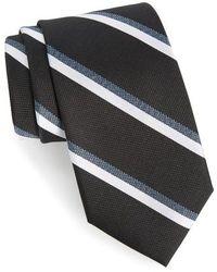 Calibrate - Miranda Stripe Silk Tie - Lyst