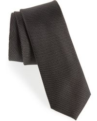 Calibrate - Sheffield Solid Silk Tie - Lyst