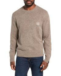 Rag & Bone - Victor Regular Fit Crew - Lyst