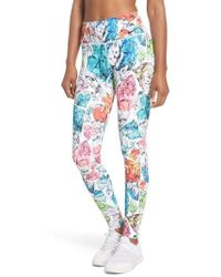 Nike - Power Women's Printed Mid Rise Training Tights - Lyst