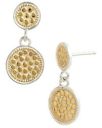 Anna Beck | 'gili' Double Disc Earrings | Lyst