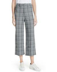 Sea - Bacall Cuff Crop Wide Leg Pants - Lyst