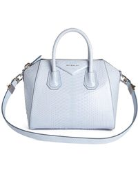 0c4ddcb49ecc Givenchy -  small Antigona  Genuine Python Satchel - - Lyst