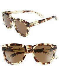 Wildfox - Unisex Classic Fox Square Acetate Frame Sunglasses - Lyst