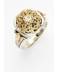 Konstantino 'classics' Two-tone Diamond Ring - Metallic