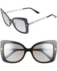 Tom Ford - Gianna 54mm Sunglasses - - Lyst