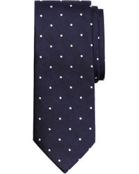 Brooks Brothers - Small Dot Silk Tie (x-long) - Lyst