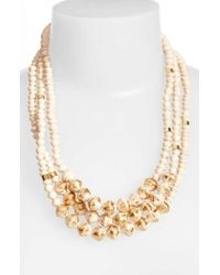31 Bits - Emery Paper Bead Necklace - Lyst
