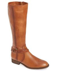 Frye - Melissa Belted Knee-high Riding Boot - Lyst