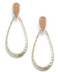 Melinda Maria - Cassan Drusy Earrings - Lyst