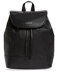 State Bags - Parkville Hattie Leather Backpack - - Lyst