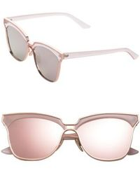 SUNNYSIDE LA - 61mm Mirorred Butterfly Sunglasses - Lyst