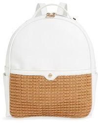 mali + lili - Mali + Lili Harper Lili Basket Weave Backpack - Lyst