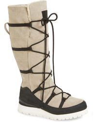 341304a6a The North Face Cryos Tall Wedge Waterproof Boot in Brown - Lyst