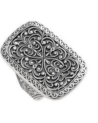Konstantino - 'classics' Rectangle Filigree Ring - Lyst