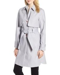 Ted Baker - Scallop Detail Trench Coat - Lyst