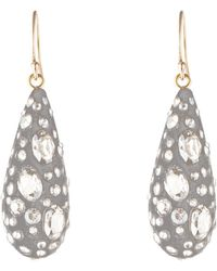 Alexis Bittar - Essentials Diamond Dust Dewdrop Earrings - Lyst