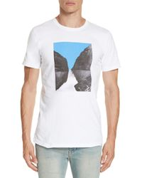 Norse Projects - Niels Naer?yfjord Graphic T-shirt - Lyst