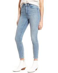 Treasure & Bond - Charity High Waist Crop Skinny Jeans - Lyst