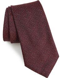 John Varvatos - Texture Silk Tie - Lyst