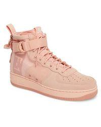 Nike - Sf Air Force 1 Mid Suede Sneaker - Lyst